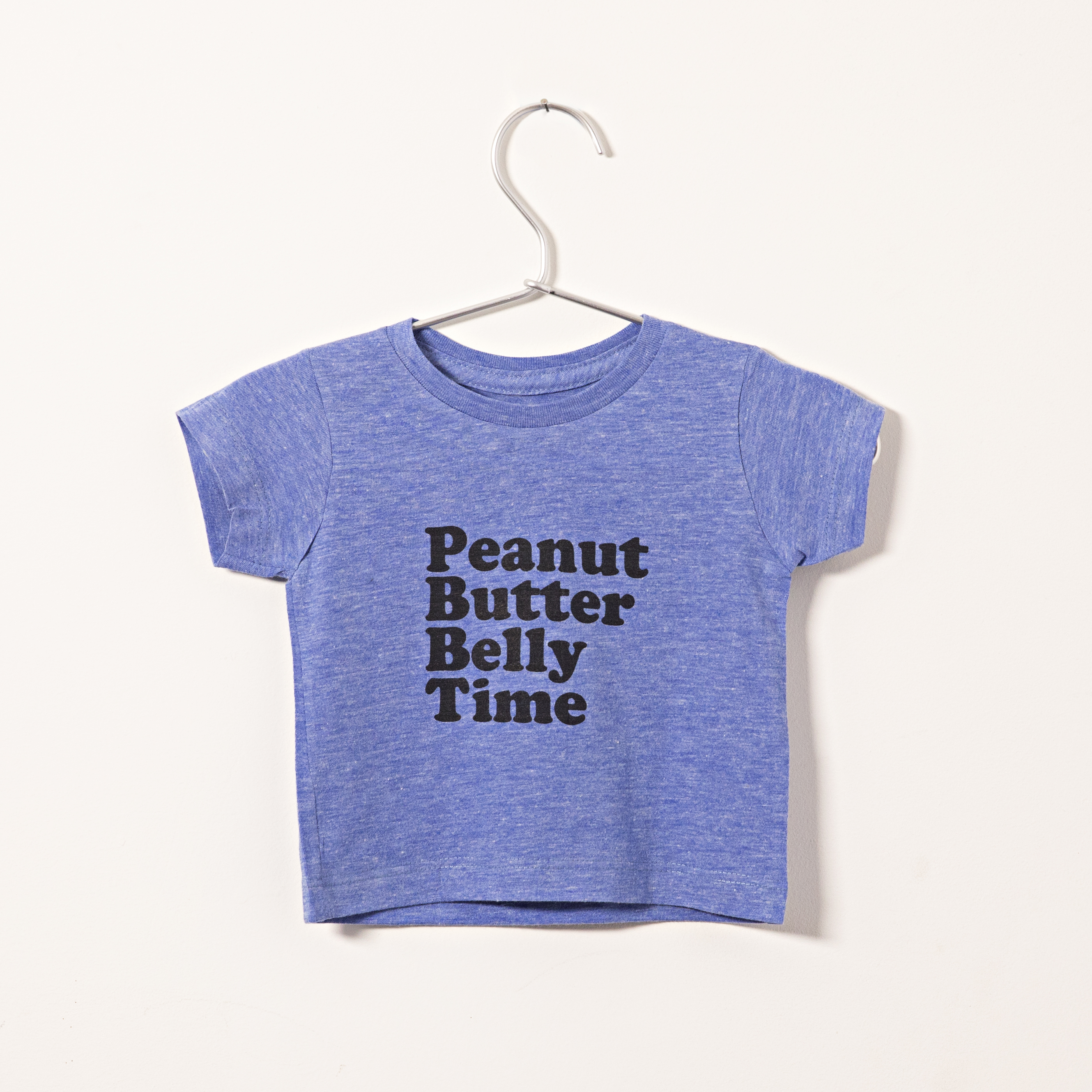 Peanut butter Belly Time Tee